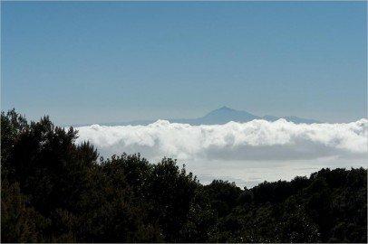 La Palma-Sicht nach Teneriffa