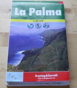 La Palma Wanderkarte