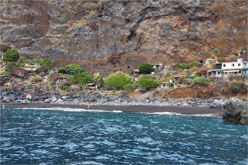 La Palma Strände die playa de la vetaa