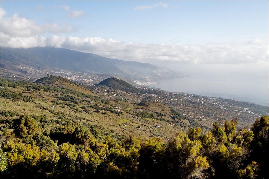 La Palma-Wanderung Blick vom Breña