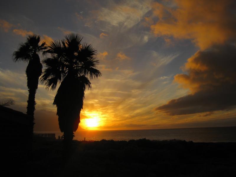 La Palma-Sonnenuntergang