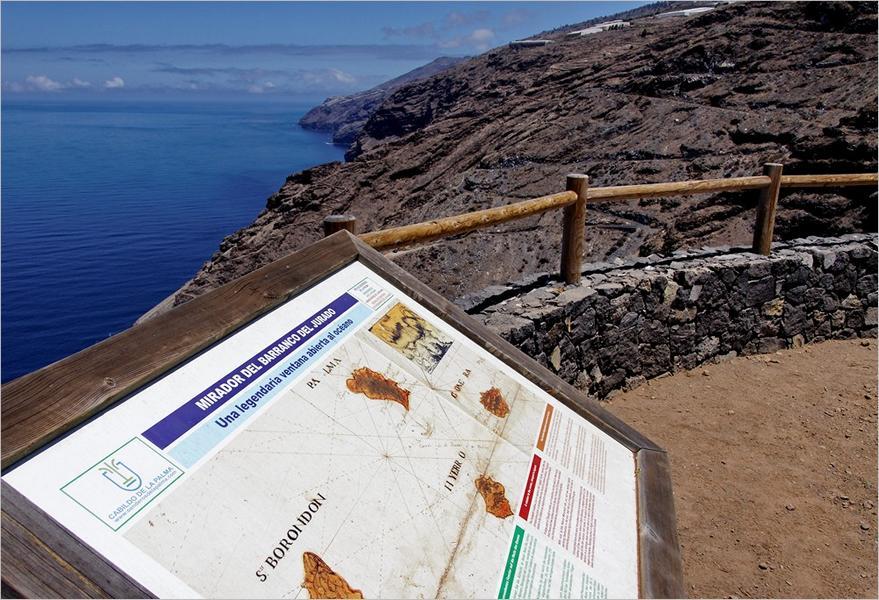 Wanderung-La Palma-Aussichtsplatz Barranco Jurado