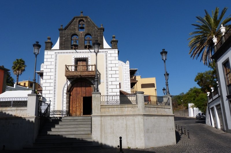 Die alte Kirche von El Paso La Palma