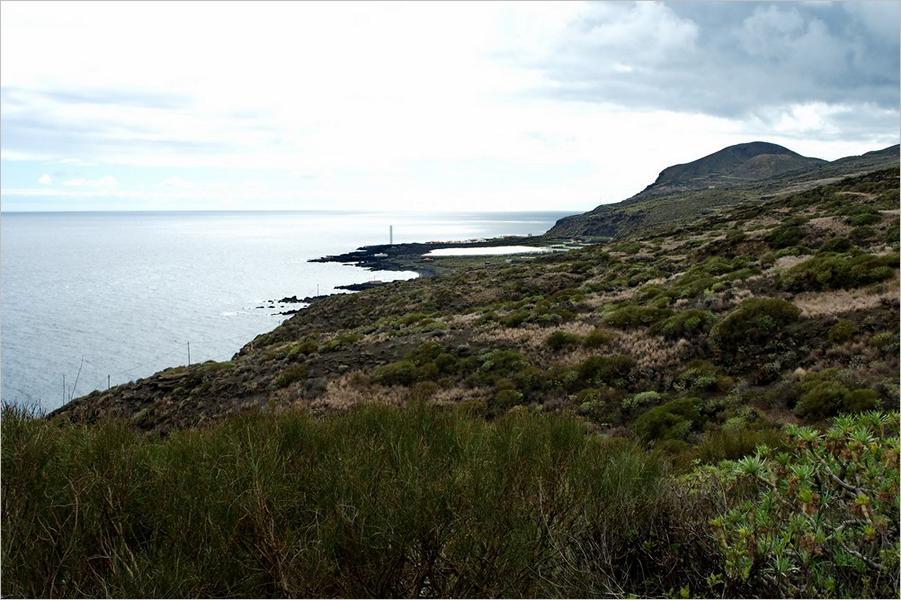 La Palma Strände Salemera-La Palma-Wanderung-Strand