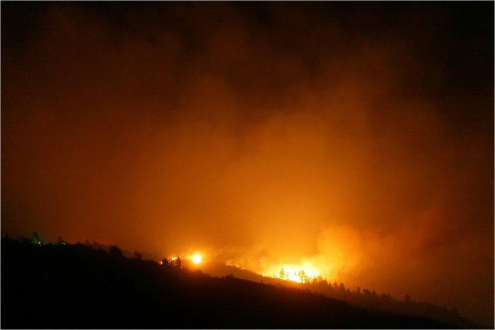 La Palma-Waldbrand-Juli 2012