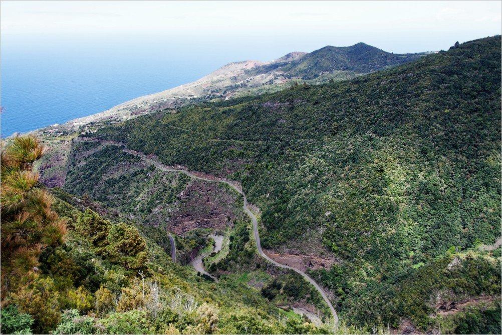La Palma-Wanderung-Aussicht-Mirador de Las Mimbreras
