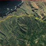 La Palma Wanderungen-Wanderstrecke