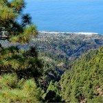 La Palma-Wanderweg-LP 10- Ausblick Richtung El Jesús