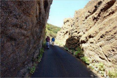 La Palma Wanderung-Abstieg nach Lomo Machin