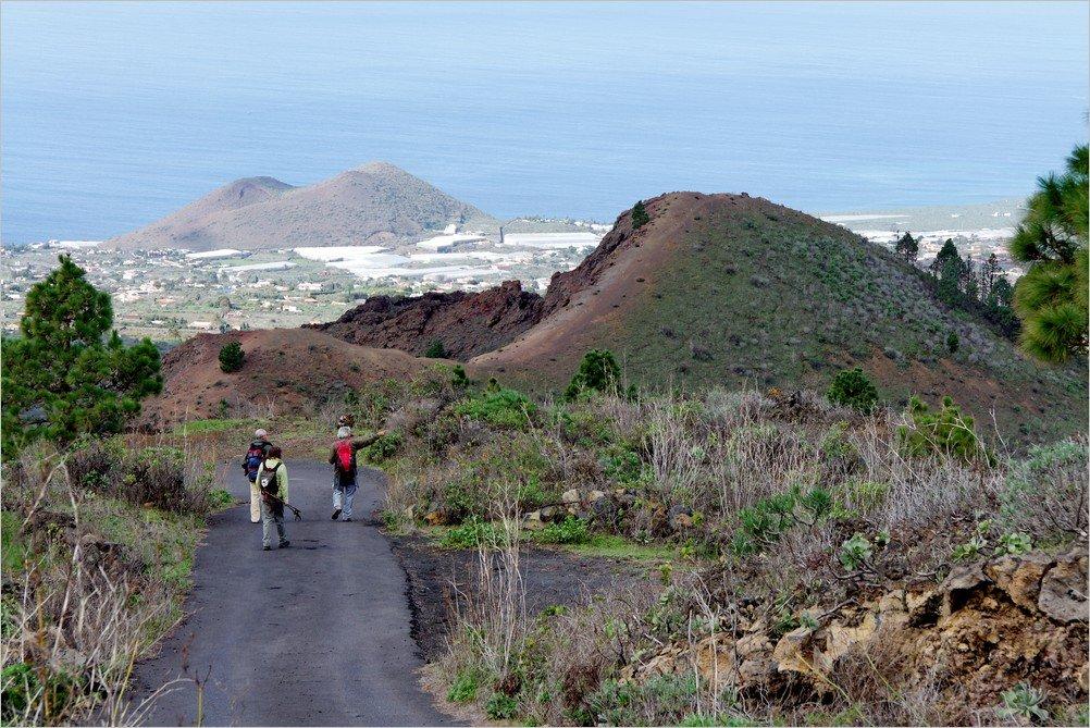 La Palma-Wanderung-Montaña Rajada