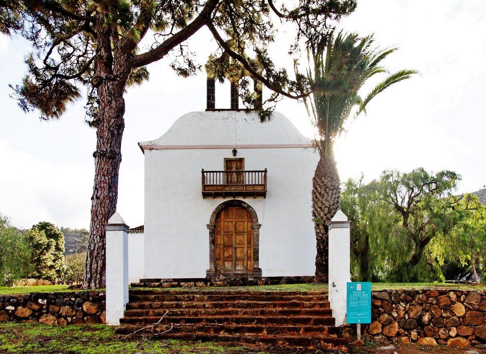 La Palma Wanderung-Puntagorda-Iglesia San Mauro