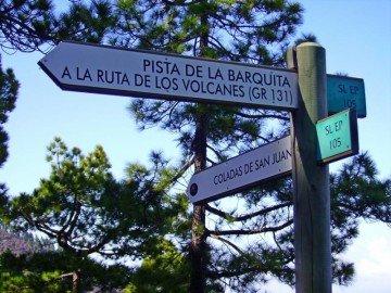 La-Palma-Wanderwege-Hinweisschilder