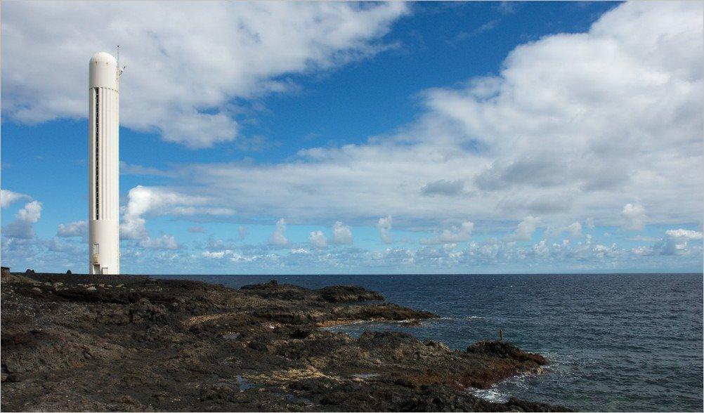 La Palma Foto-Faro an der Playa Salemera