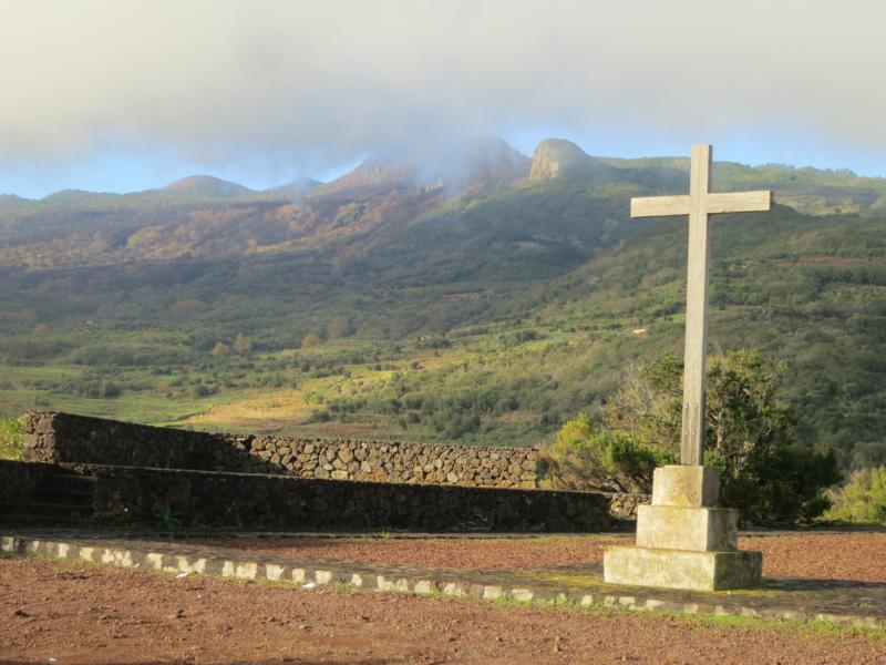La Palma Wandern-Ausblick vom Mirador La Tosca