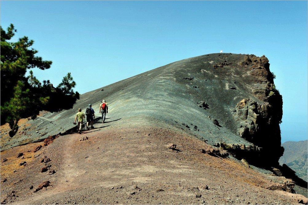 La Palma- Wandern am Rand der Caldera1