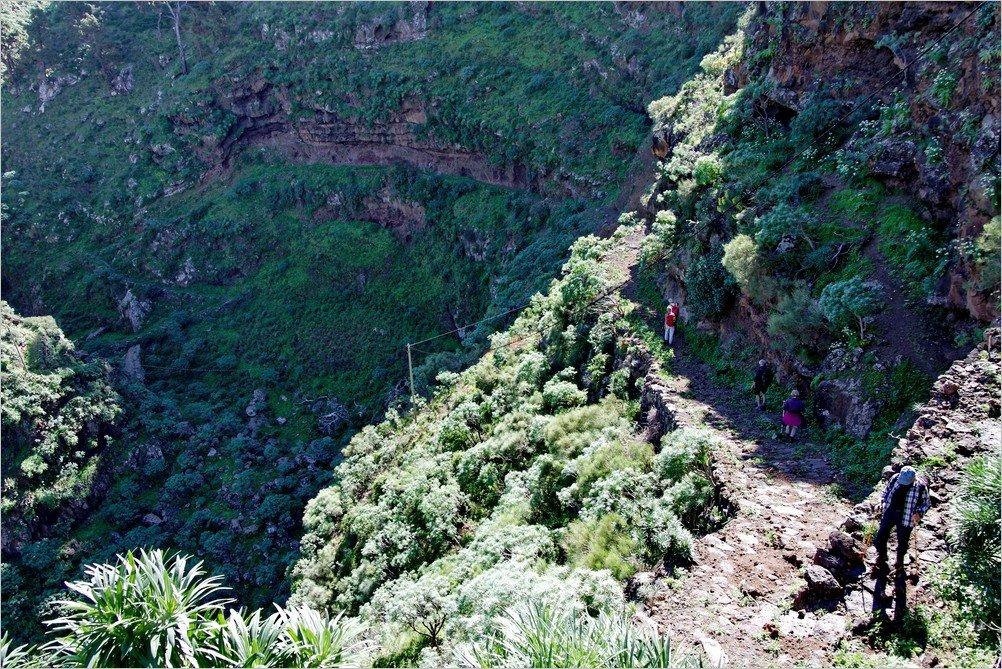 La Palma Foto-Eine Wanderung durch den Barranco Atajo-Ralf Köhler