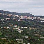 La Palma Wandern-Ausblick nach Los Sauces
