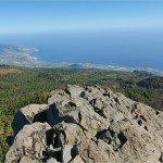La Palma Wandern-Ausblick vom Gipfel des Nambroque