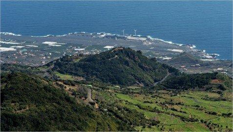 La Palma Wandern-Ausblick vom Niquiomo