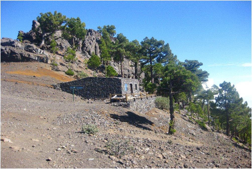 La Palma Wandern-Foto-Refugio Punta de los Roques