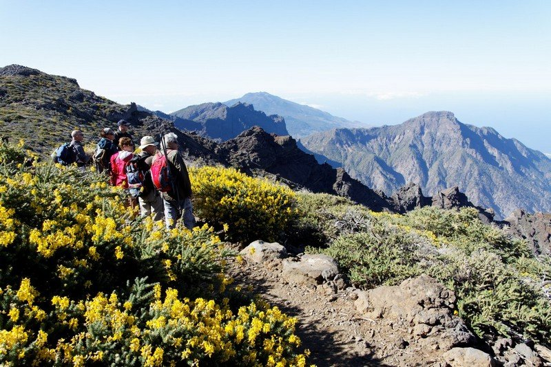 La Palma Urlaub, Wandern im Hochgebirge ein besonderes Vergnügen