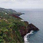 La Palma Wandern- Steilküste unterhalb von La Galga
