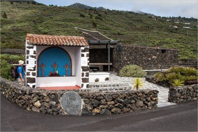 La Palma Wandern-Rastplatz am Wanderweg SL FU 112