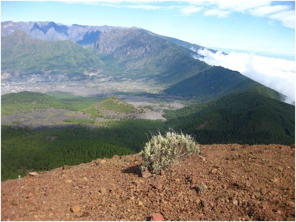 Gipfel des Birigoyo mit seinem schönen Ausblick