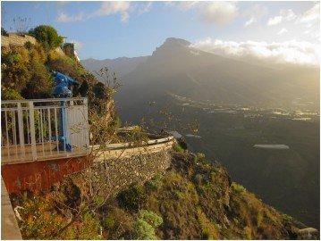 La Palma Bilder Der Bejenado vom Mirador El Time aus gesehen