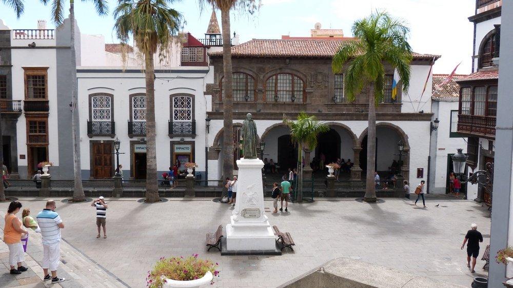 Santa cruz de la palma plaza de espa a la palma - Casas rurales en santa cruz de la palma ...