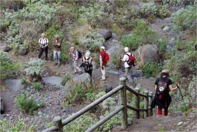 La Palma Wandern auf dem GR 130 bei Puntallana