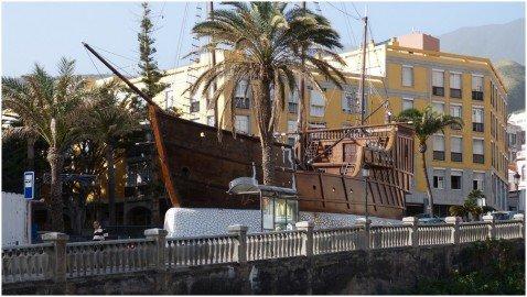 Santa Cruz de La Palma Barca de La Virgen