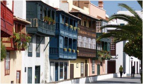 La Palma Bilder Santa Cruz de La Palma  Casas de Los Balcones