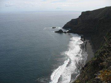 La Palma Wandern GR 130 bei der Playa Nogales
