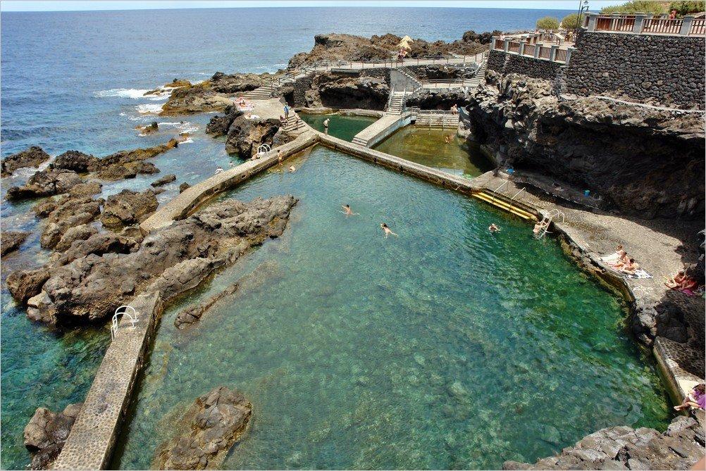 La palma str nde piscinas de la fajana for Piscinas publicas palma de mallorca