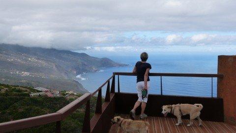 La Palma Wandern Ausblick auf die Nordküste von La Palma