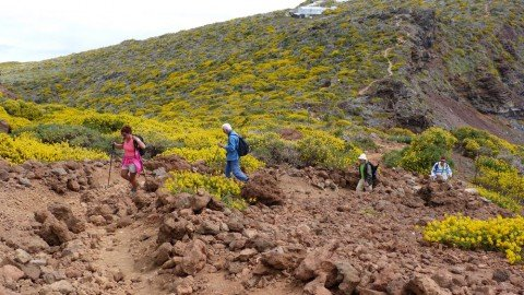 La Palma Wanderungen Bei der Dellogado del Fraile