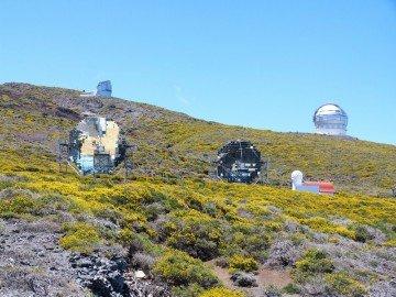 La Palma Wanderungen Magixtelescope auf dem Roque de Los Muchachos