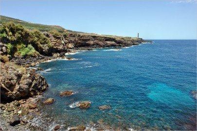 La Palma Wanderwege Küste bei Barlovento