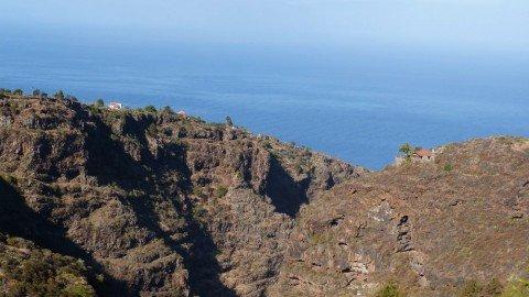 La Palma,Tijarafe Wandern,Barranco Jurado