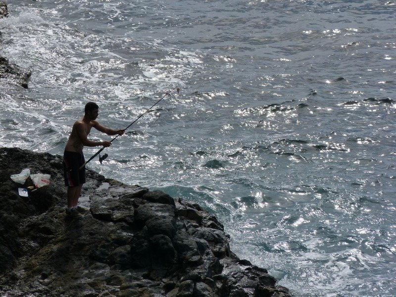 La Palma Ausflug an der Playa de Trigo ,La Palma
