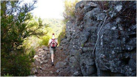 La Palma Wandern Auf dem Lomo de Cuchillo