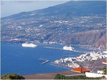 La Palma Wandern Ausblick von Tenagua