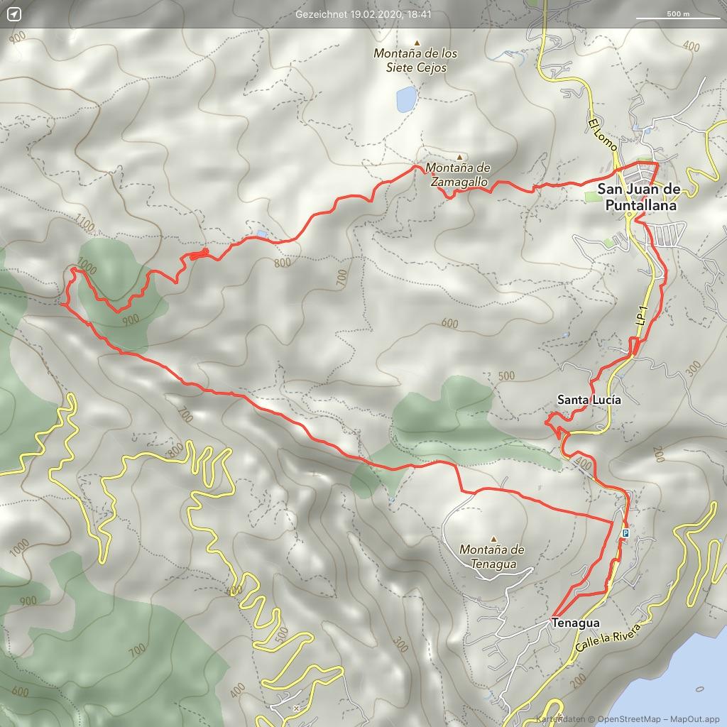 La-Palma-Wandern-Tenagua-rund