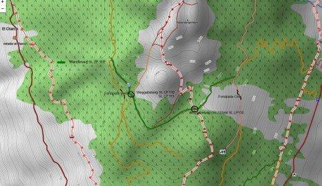 Wanderweg SL LP 110