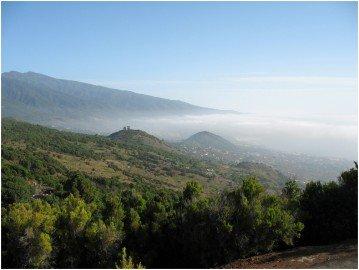Ausblick vom Niquiomo La Palma Wandern