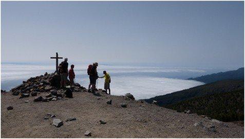 La Palma Wanderungen Auf dem Pico de La Nieve