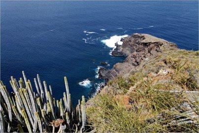 La Palma Wanderungen-Ausblick zur Lomada Grande