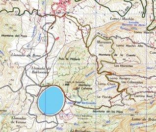 Streckenverlauf Wanderung Barlovento La Palma