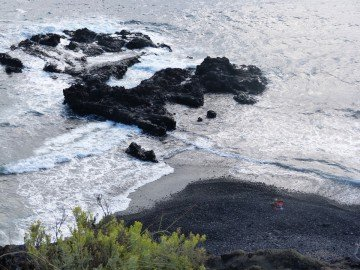 La Palma ,Salemera,einsame Bucht